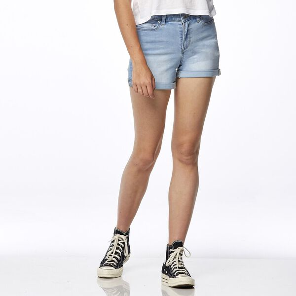 Mid Thigh Short Varsity Blue