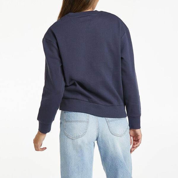 Classic Relaxed Logo Sweat, Worn Navy, hi-res