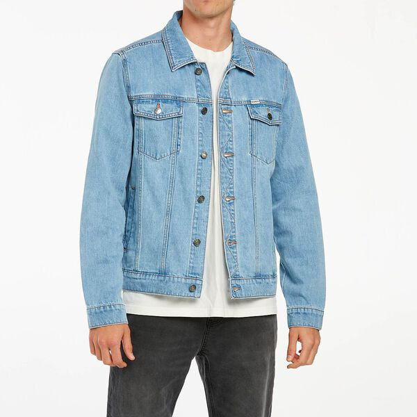 Denim Jacket Storm Blue, Storm Blue, hi-res