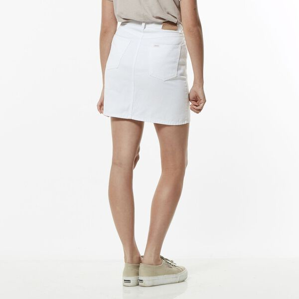 HI BIRKIN SKIRT WHITE OUT, WHITE OUT, hi-res