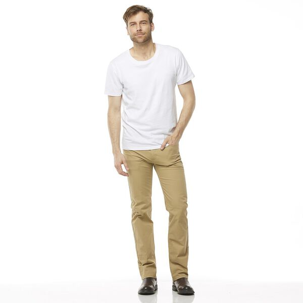 Straight Pant, LIGHT CAMEL, hi-res