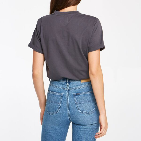 Women's Relaxed Tee Graphite, GRAPHITE, hi-res