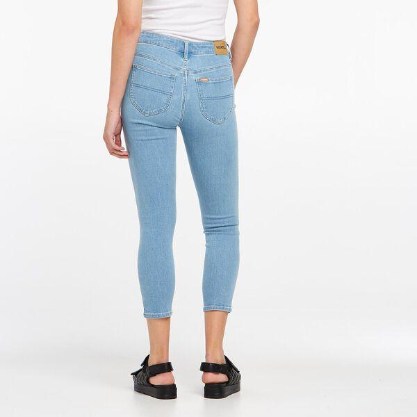 Mid Crop Skinny Jean, Sunnyside Blue, hi-res