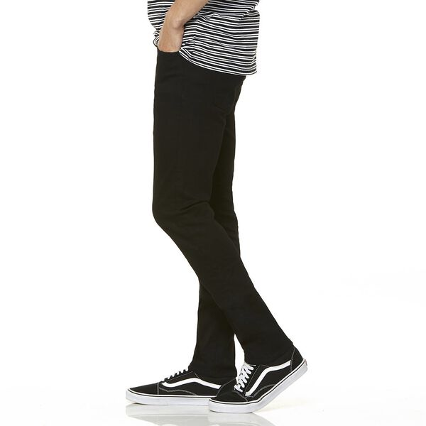 R1 Skinny Stretch Black, STRETCH BLACK, hi-res