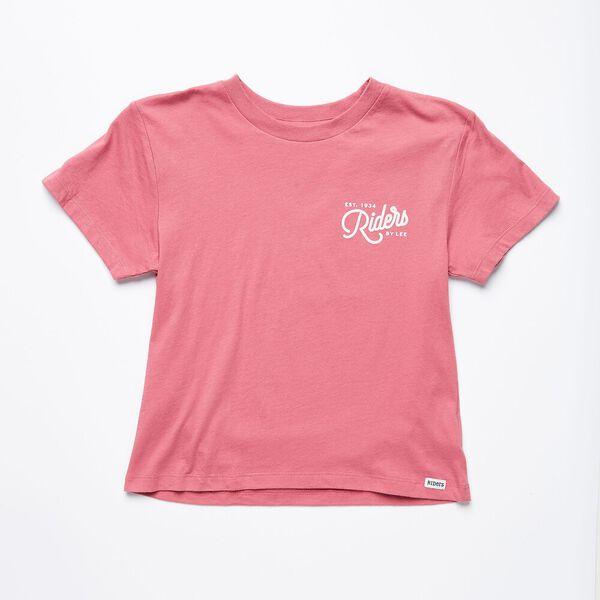 Teen Girls Classic Tee Pink Sorbet, Pink Sorbet, hi-res