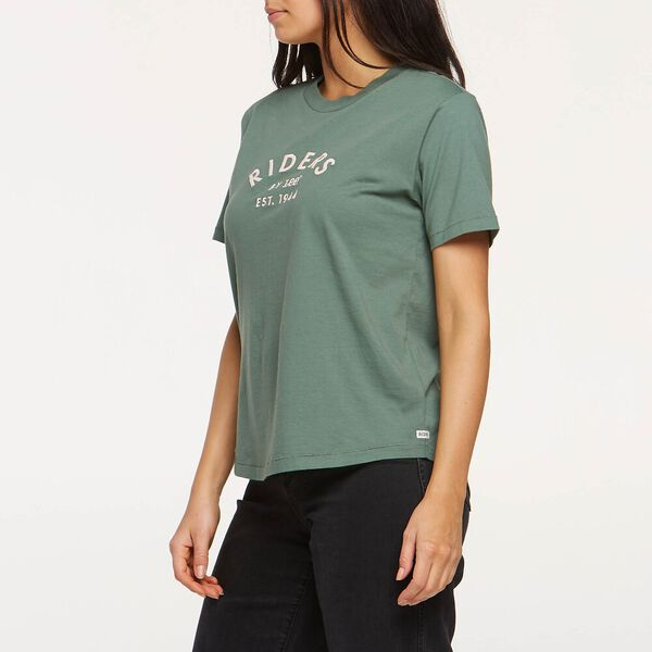 Womens Relaxed Tee Dusty Sage, DUSTY SAGE, hi-res