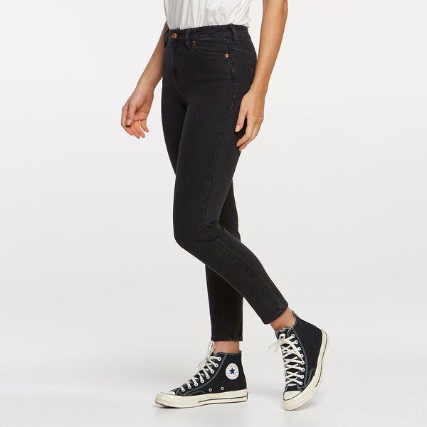 Mid Ankle Skimmer Edge Black, EDGE BLACK, hi-res