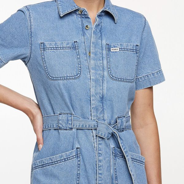Coverall Short Beverly Blue, Beverly Blue, hi-res