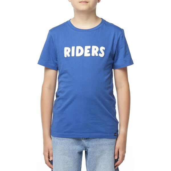 THE SS TEE_RIDERS BLOCK SPORTS BLUE