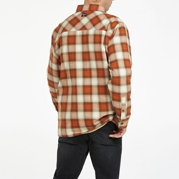 Long sleeve Check Over shirt, Retro Check, hi-res