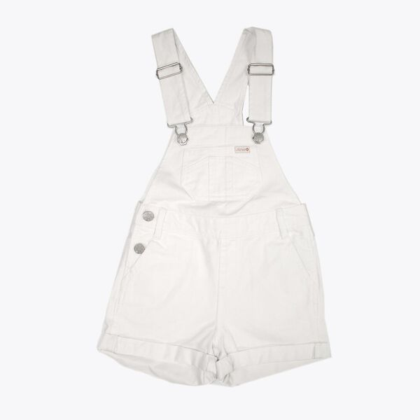 DUNGAREE SHORT WHITE OUT