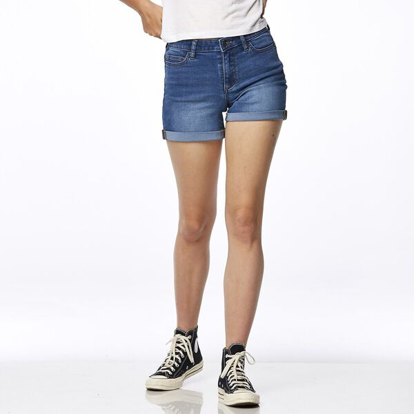 Mid Thigh Short Riverdale Blue