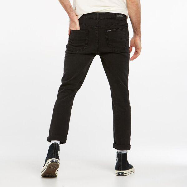 R1 Skinny Roller Jean, Black Water, hi-res