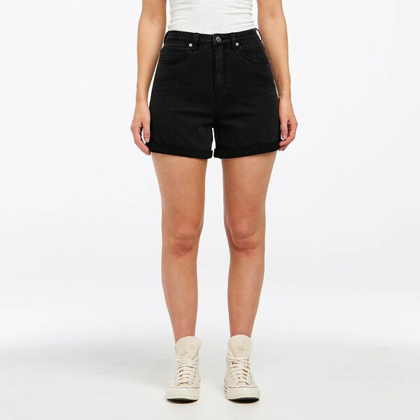 Girlfriend Short Black Ash