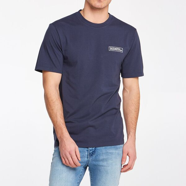 Men's Trademark Tee Navy Worn