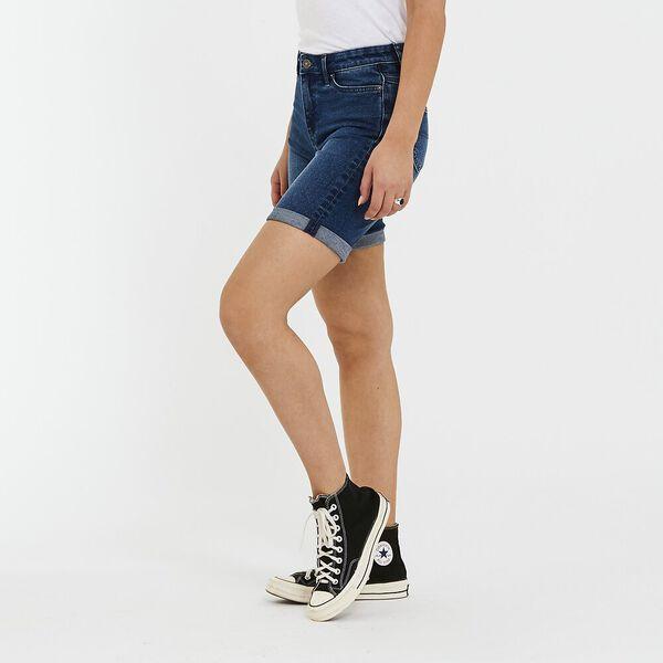 Knee Length Short Easy Blue, Easy Blue, hi-res