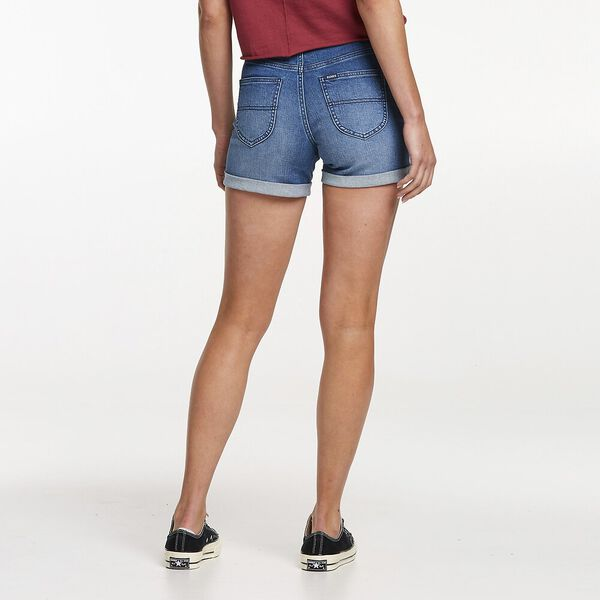 Mid-Thigh Short Harper Blue, Harper Blue, hi-res