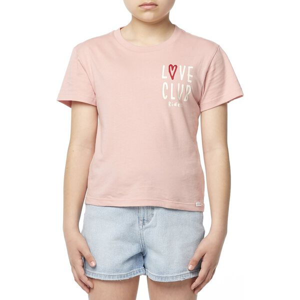 The Classic Tee_Love Club Dusty Rose