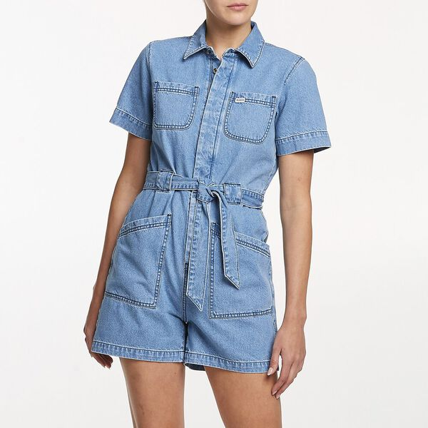 Coverall Short Beverly Blue