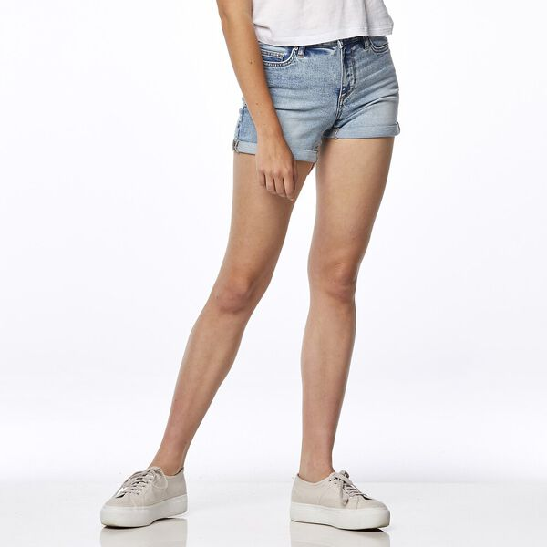 MID THIGH SHORT // MOONSCAPE BLUE