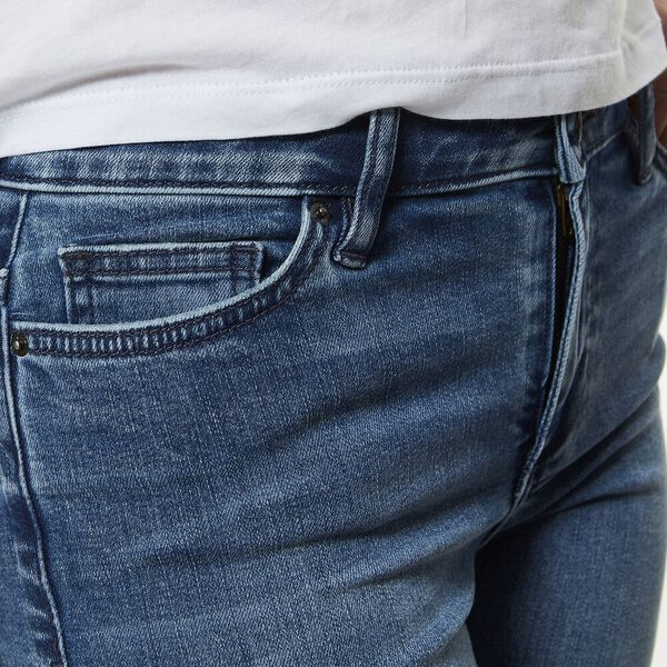 Knee Length Short Lexington Blue, LEXINGTON BLUE, hi-res