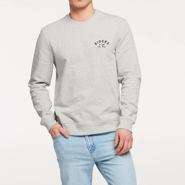 Mens Trademark Fleece Grey Marle