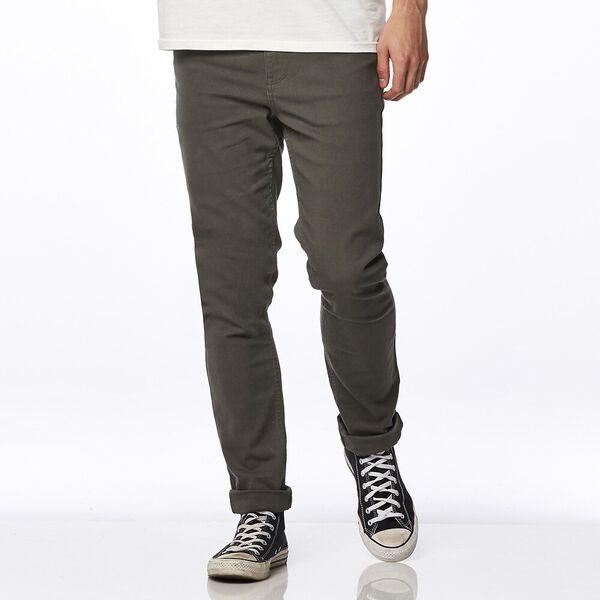Men's R2 Slim and Narrow Pants, UTILITY GREEN, hi-res