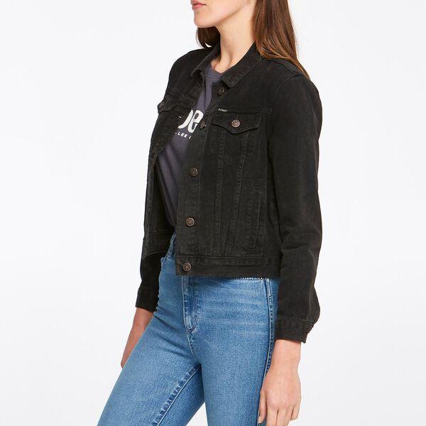 Longline Jacket Stone Black, STONE BLACK, hi-res