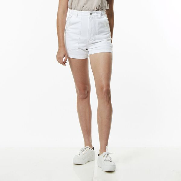HI UTILITY SHORT WHITE OUT