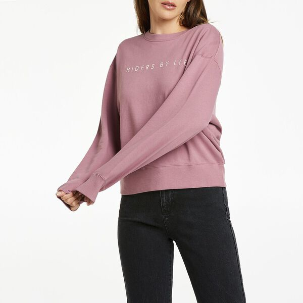 Relaxed Logo Sweat