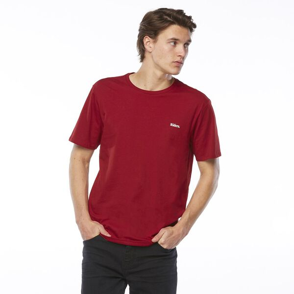 SIGNATURE TRADEMARK TEE // DARK RED
