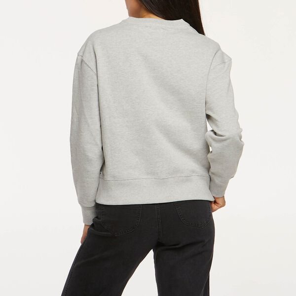 Womens Relaxed Sweat Grey Marle, GREY MARLE, hi-res