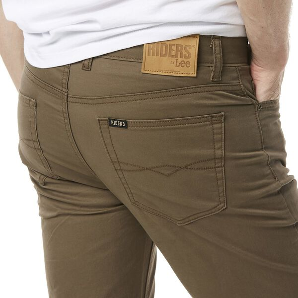 Straight Pant Stretch Dark Cedar, DARK CEDAR, hi-res