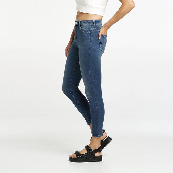 Mid Ankle Skimmer // Blue Sapphire, BLUE SAPPHIRE, hi-res