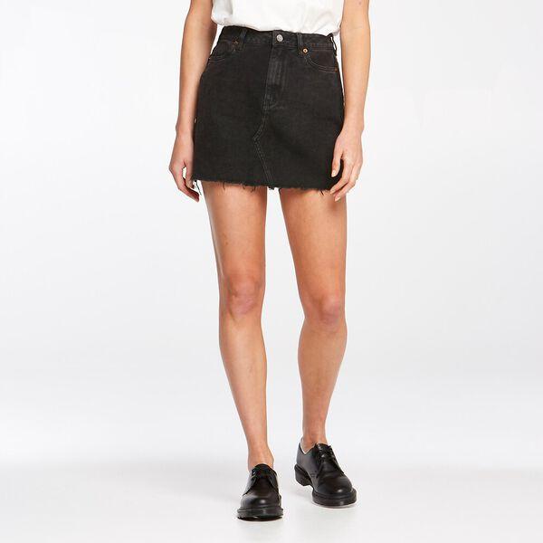 Girlfriend Skirt Stone Black, STONE BLACK, hi-res