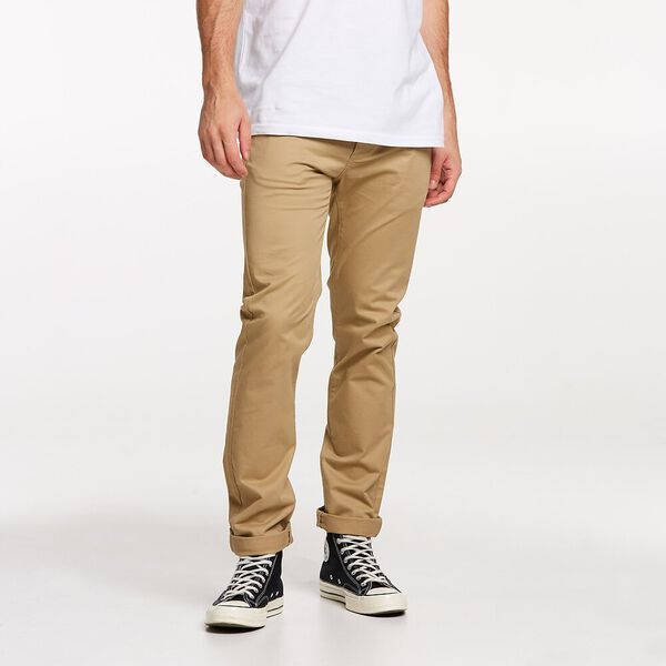 STRETCH CHINO LIGHT CAMEL