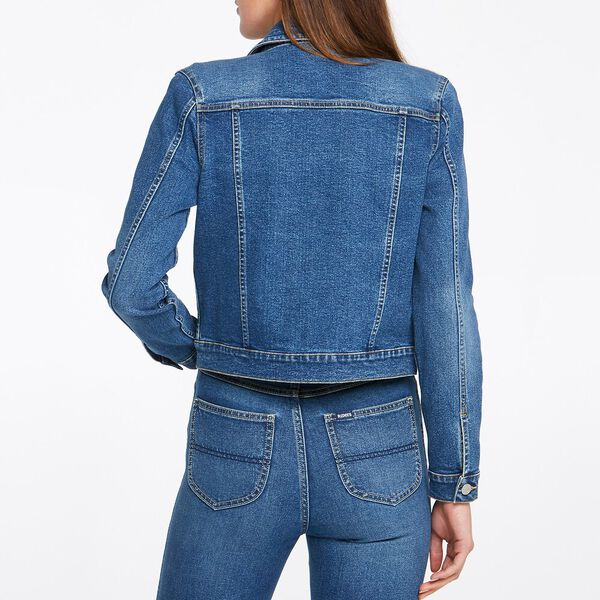 Classic Denim Jacket Canyon Blue, CANYON BLUE, hi-res