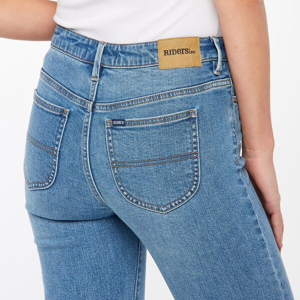Mid Ankle Skimmer Skinny Jean, Picture This Blue, hi-res
