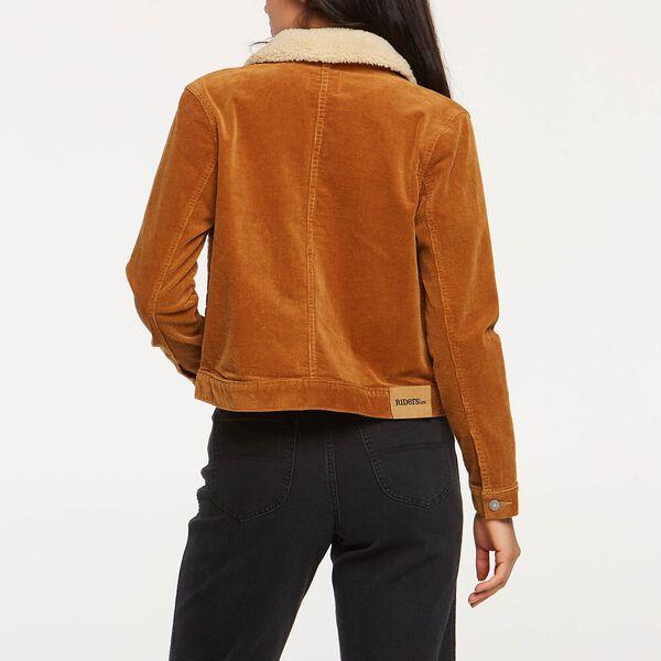 Corduroy Sherpa Jacket Tan, TAN, hi-res