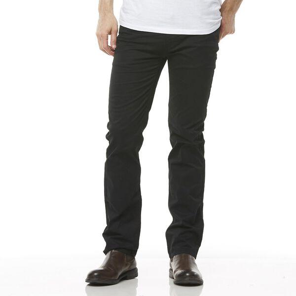 Straight Pant, BLACK STRETCH, hi-res